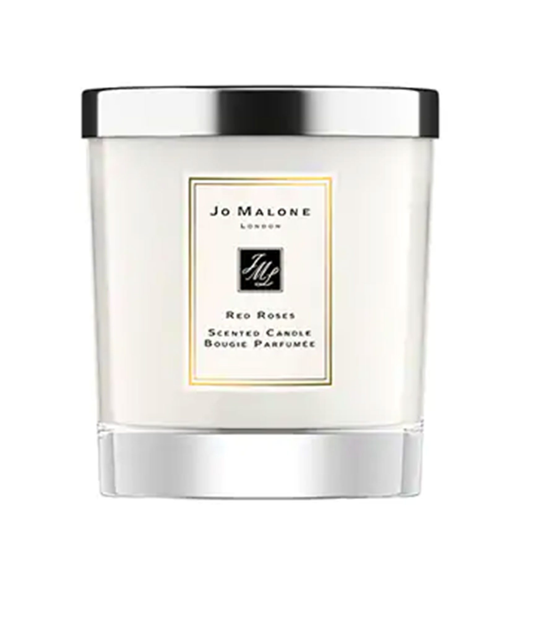 Jo Malone Red Roses Home Candle - Skip the bouquet in favor of this multi-faceted floral that includes seven species of rose, plus hints of violet and lemon. $67, jomalone.com