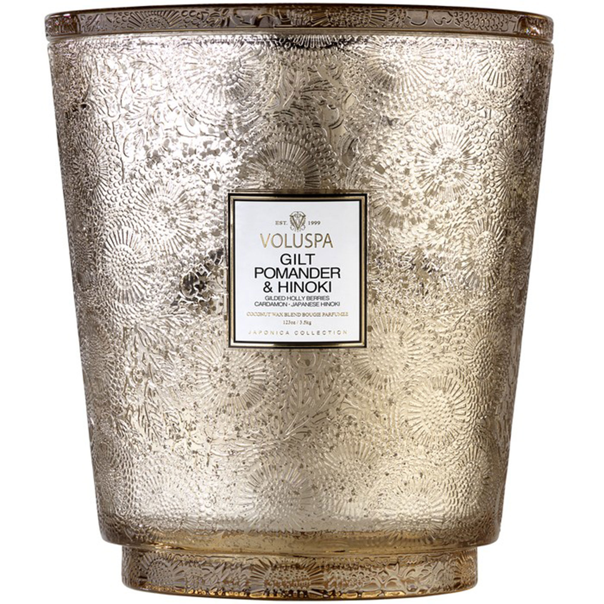 Valuspa Gilt Pomader Hearth Candle - Whether you're #blessed with a fireplace or not, this warm and woody blend features notes of golden spiced pomander, cardamom and Japanese Cyprus that give off the sexiest kind of bonfire vibes. $198, sephora.com