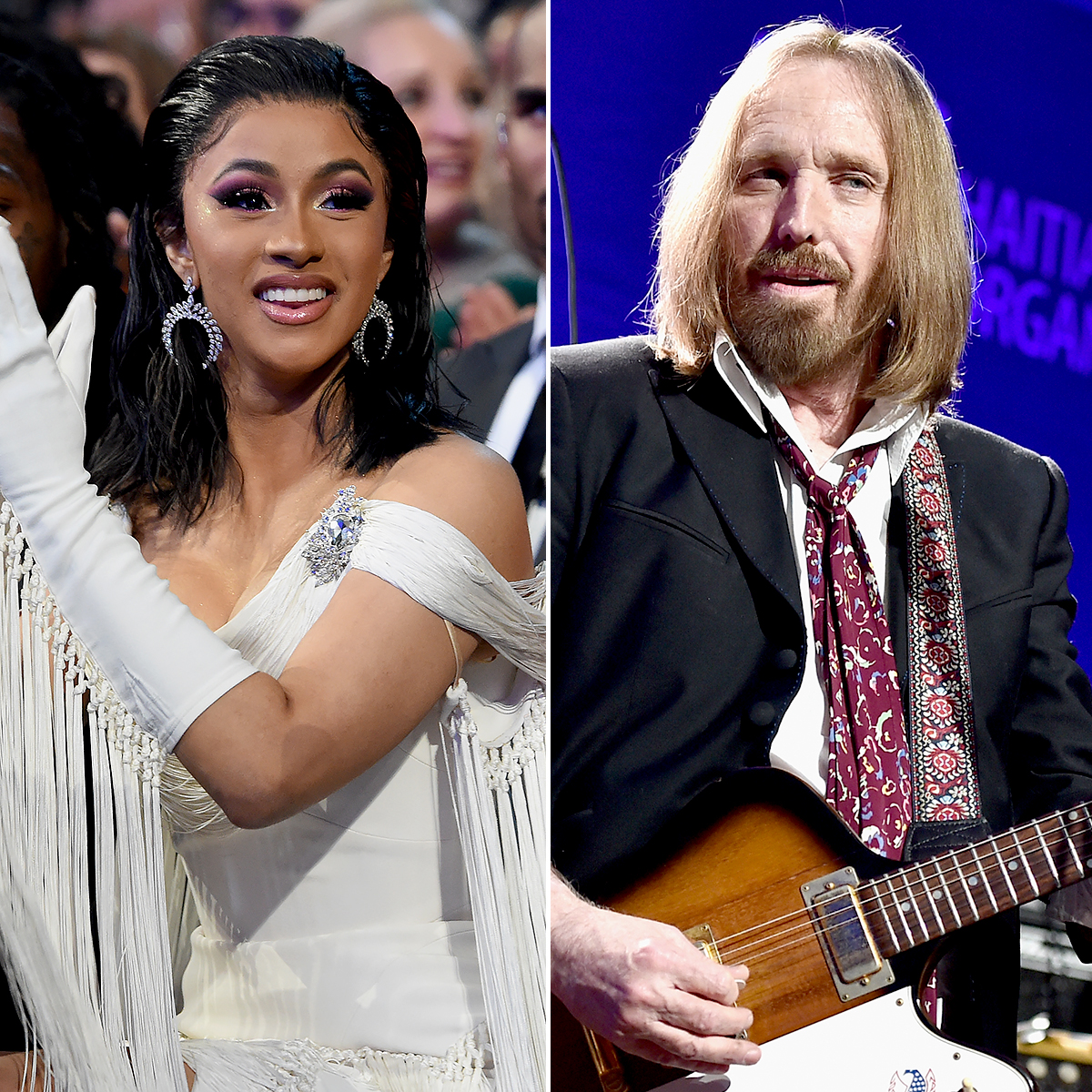 Tom Petty Tour 2019 Cardi B Thanks Late Tom Petty for Sending Flowers at Grammys 2019