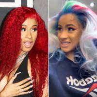 Cardi B Show Off Fresh New Hair Colors for Spring