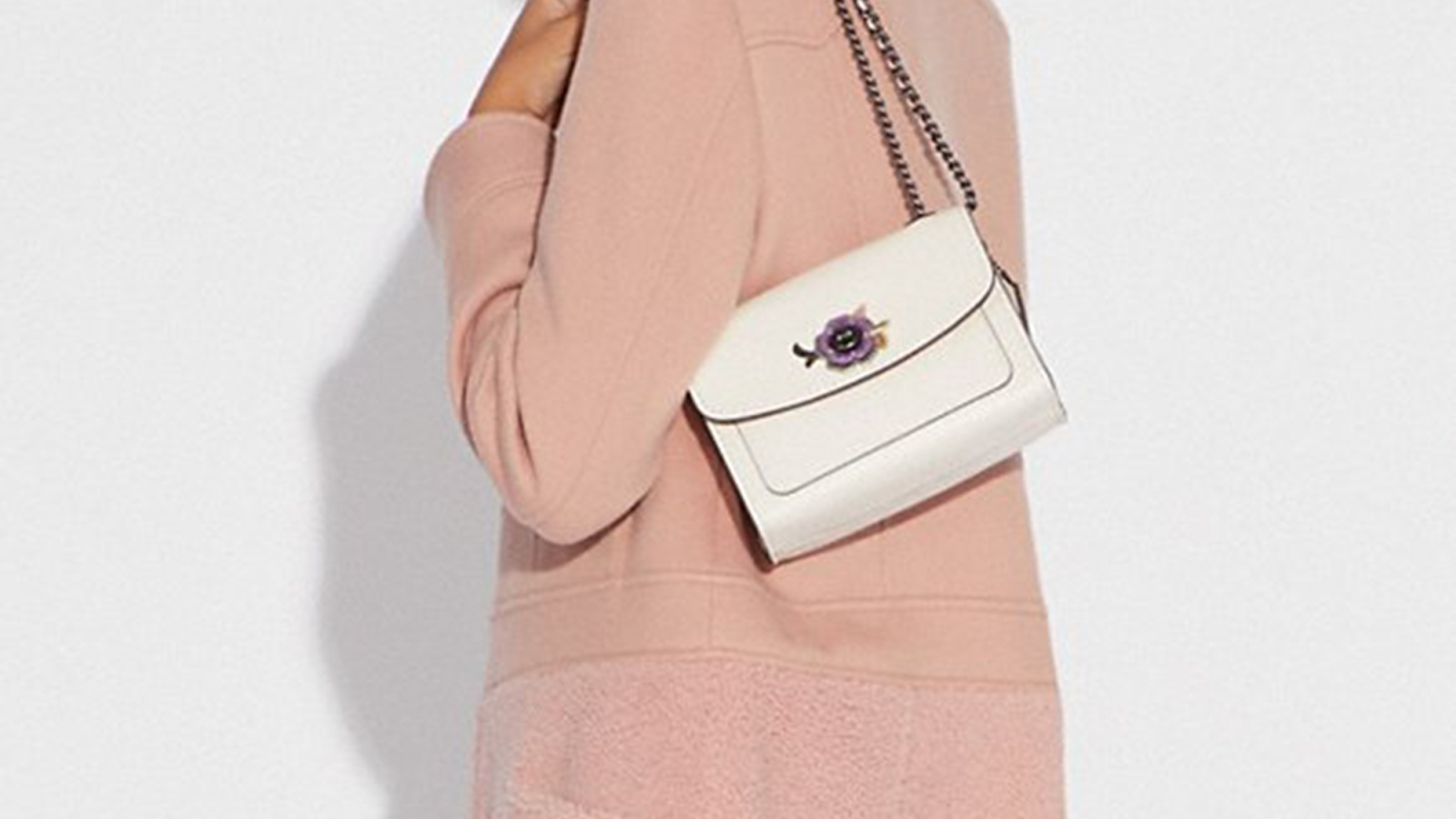 e9434115549 This Coach Cross-Body Bag Is Like a Tea Party in a Purse - Us Weekly