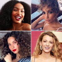 Celebs With Curly Hair Perms Spirals Natural Coils Hair Trend