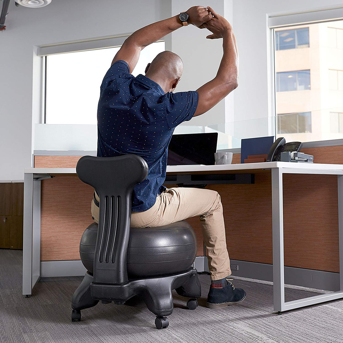 This Balance Ball Chair With Over 4 000 Reviews Will Give A