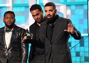 Grammys 2019: Drake Gets Cut Off in Acceptance Speech