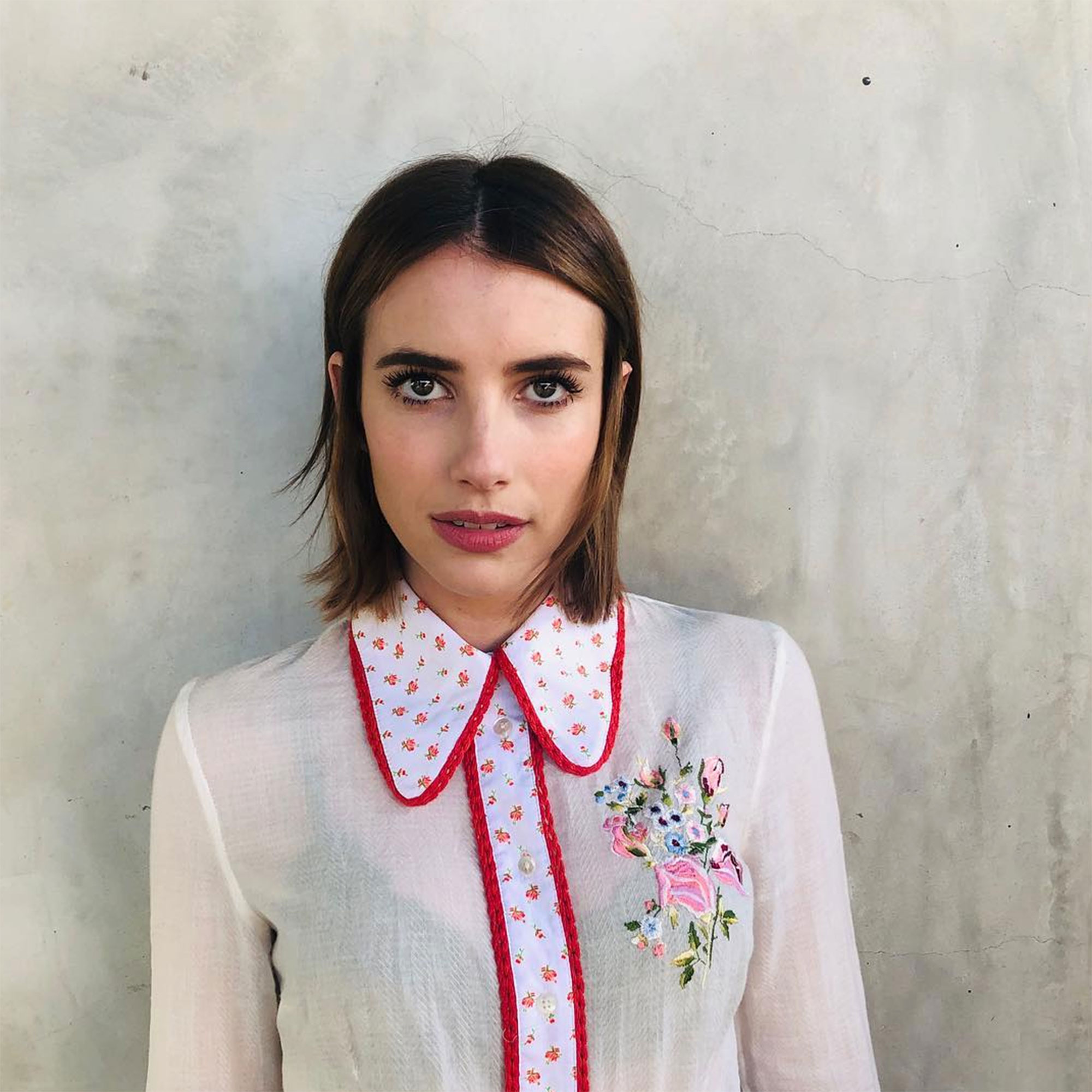 Emma Roberts Just Went Brunette Plus Other 2019 Celeb Hair Changes