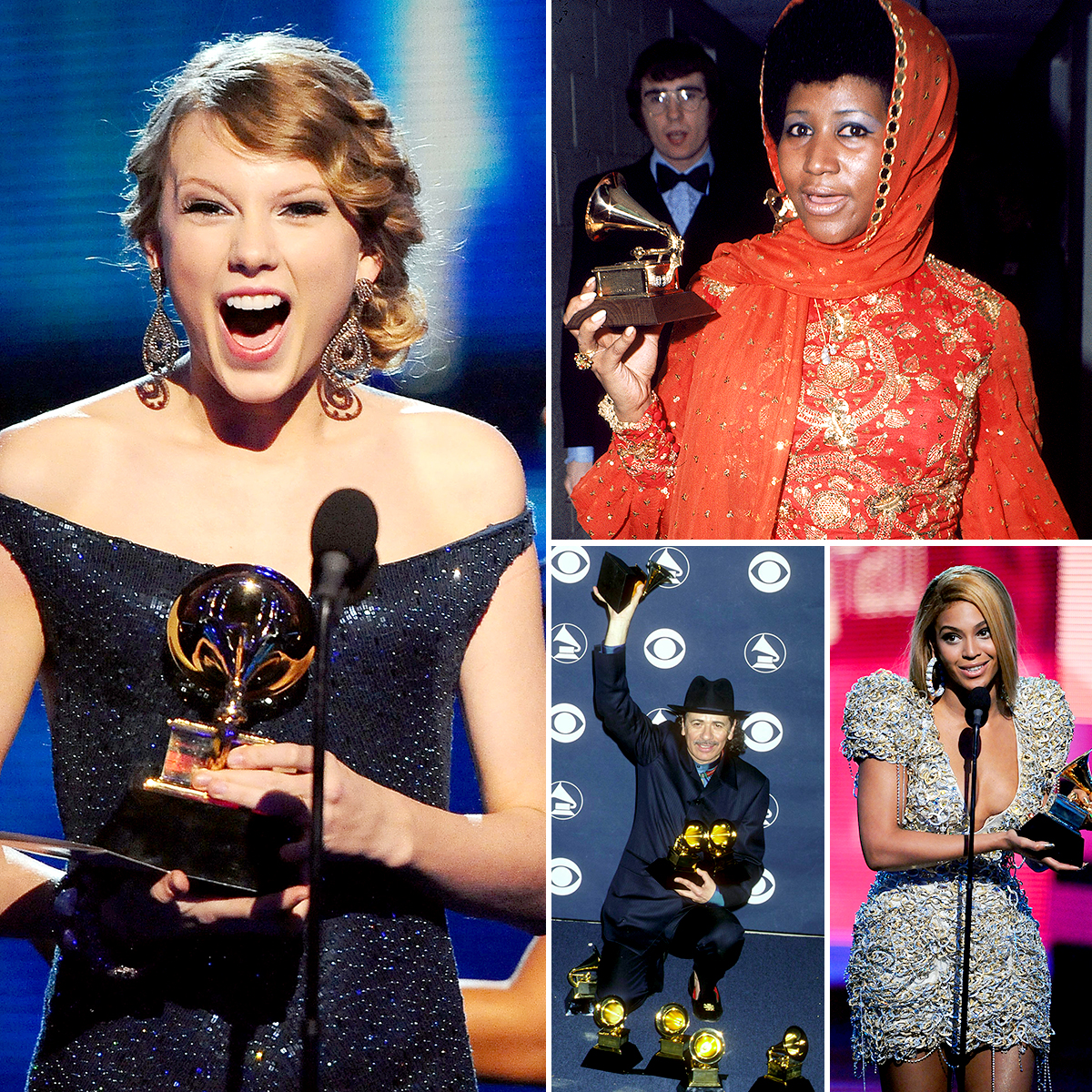 grammy-award-winners - With another year's worth of Grammys awarded , it's high time to check in on Grammy Award records and all the big names who have broken them over the course of the awards show's six-decade history. Taylor Swift skipped the 2019 Grammys on Sunday, February 10 — instead opting to attend the British Academy Film Awards with boyfriend Joe Alwyn — but she broke a Grammy record back in 2010 when she was still verging on the country side of pop music.