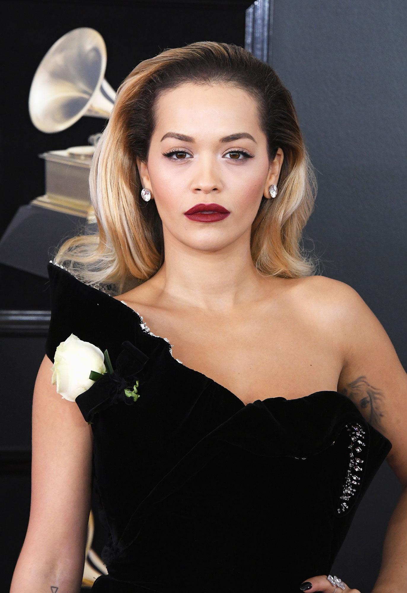Rita Ora - Recording artist Rita Ora attends the 60th Annual GRAMMY Awards at Madison Square Garden on January 28, 2018 in New York City.