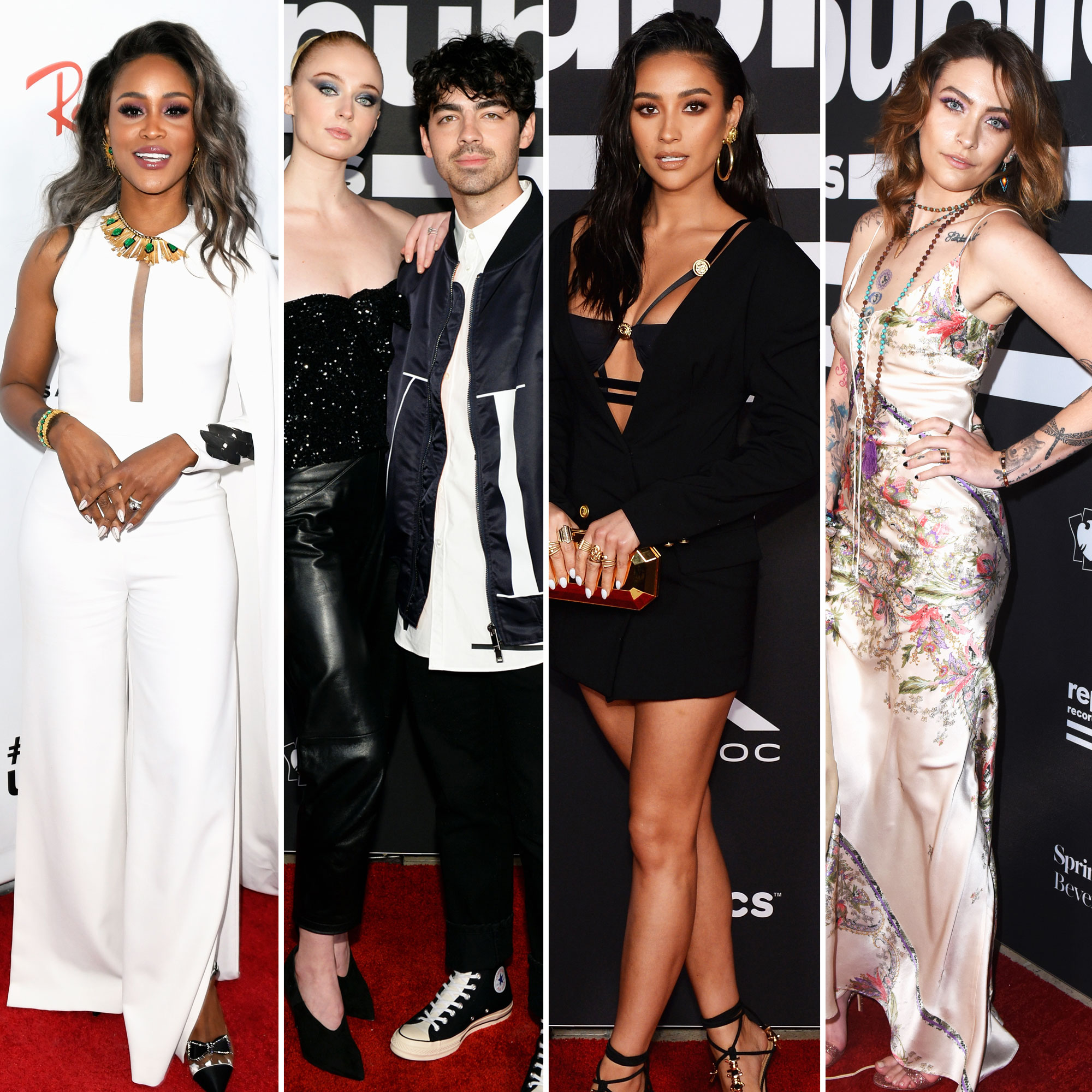 Eve, Sophie Turner, Joe Jonas, Shay Mitchell and Paris Jackson grammys 2019 - Eve, Sophie Turner, Joe Jonas, Shay Mitchell and Paris Jackson