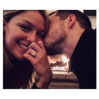 Melissa Benoist engagement ring