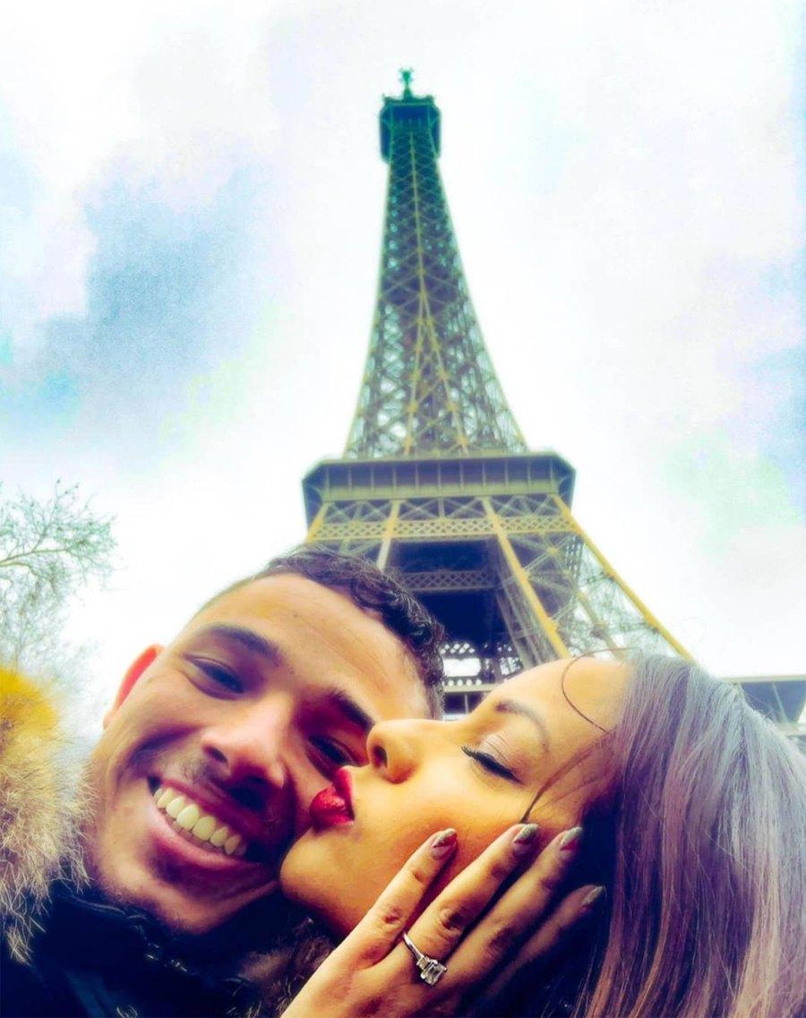 Jasmine Cephas Jones engagement ring