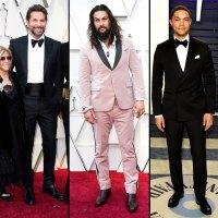Bradley Cooper, Jason Momoa and Trevor Noah Hottest Hunks at the 2019 Oscars