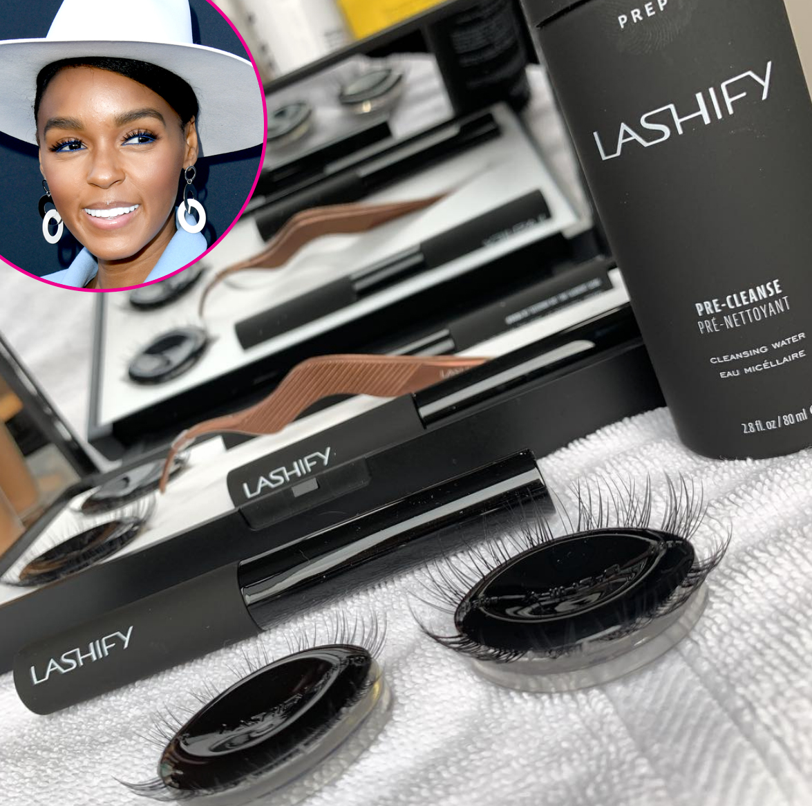 janelle-Monae-grammy-awards-2019 - One element of the songstress' look: Lashify lashes, according to her makeup artist Jessica Smalls.