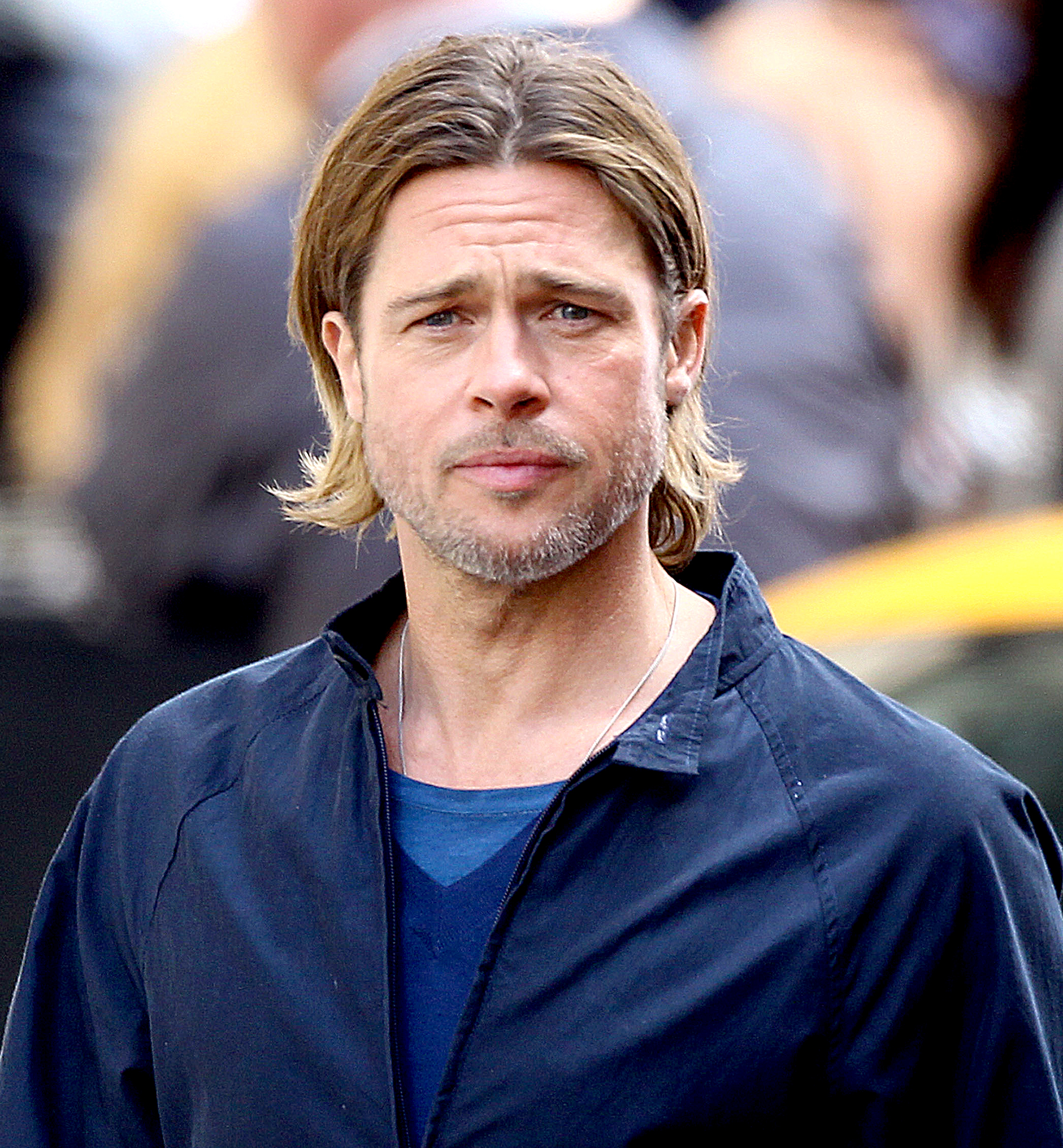 """jennifer-aniston-brad-pitt-divorce-relationship - Pitt explained how his personal feelings about where he was mentally during his marriage to Aniston. """"I spent the '90s trying to hide out, trying to duck the full celebrity cacophony. I started to get sick of myself sitting on a couch, holding a joint, hiding out. It started feeling pathetic. It became very clear to me that I was intent on trying to find a movie about an interesting life, but I wasn't living an interesting life myself,"""" the Fury actor told Parade in September 2011."""