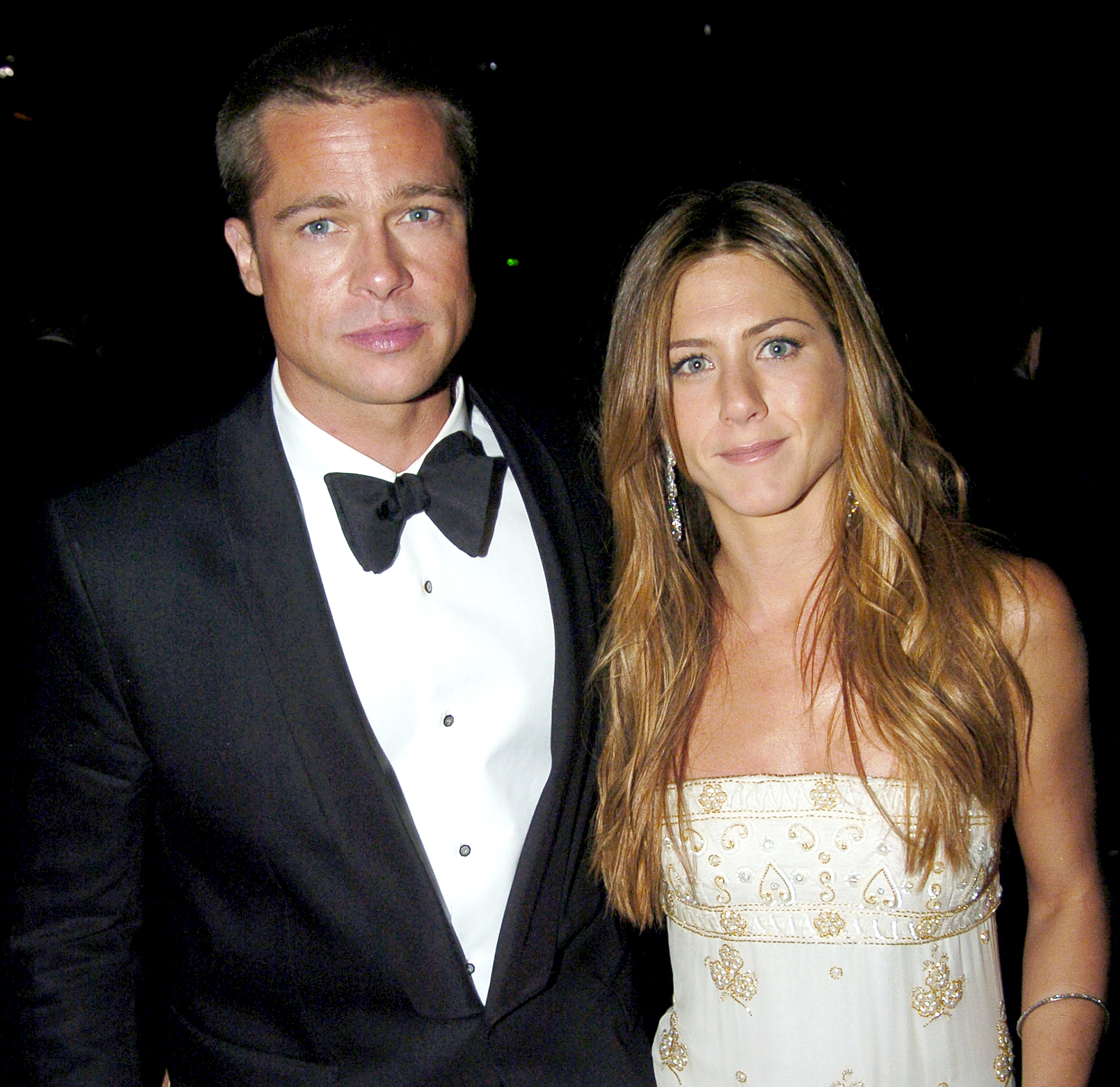 """jennifer-aniston-brad-pitt-divorce-relationship - The couple announced their split in January 2005 in a joint statement that read: """"We would like to announce that after seven years together we have decided to formally separate. For those who follow these sorts of things, we would like to explain that our separation is not the result of any speculation reported by the tabloid media. This decision is the result of much thoughtful consideration. We happily remain committed and caring friends with great love and admiration for one another."""""""