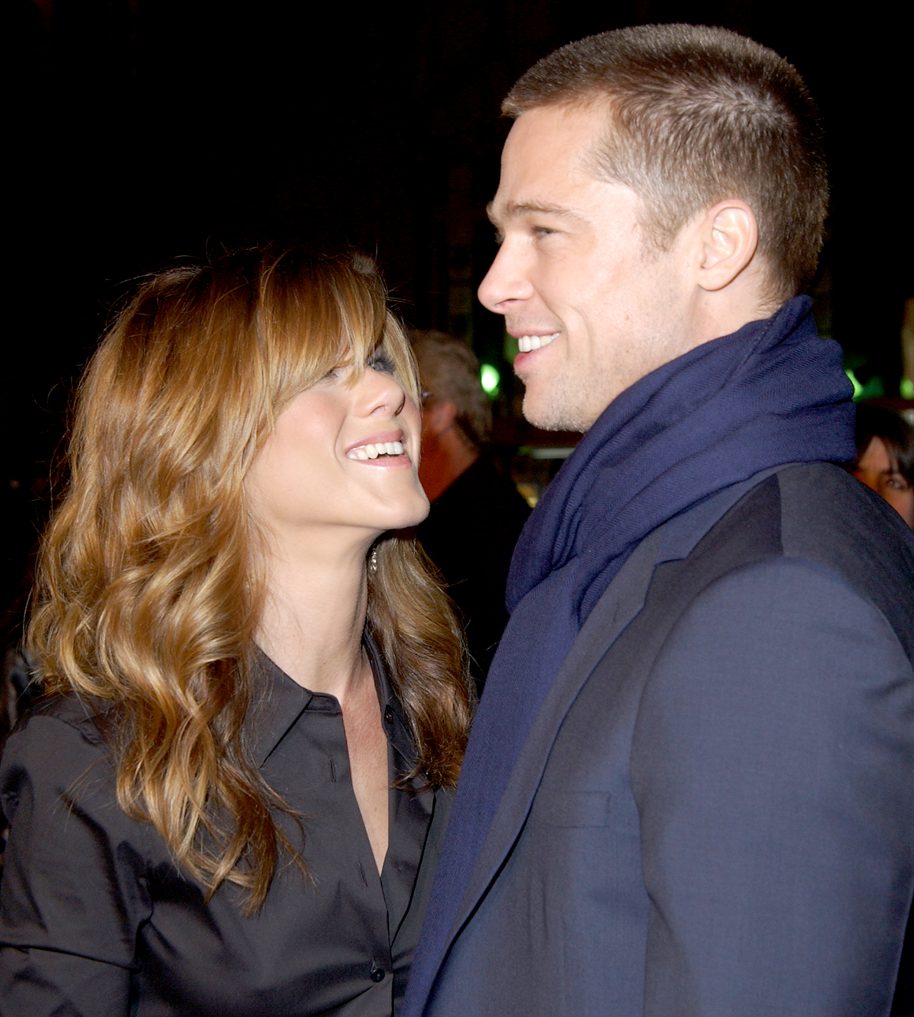 """jennifer-aniston-brad-pitt-divorce-relationship - The Friends alum talked of starting a family during a February 2004 interview with The Guardian . """"It's time. It's time. You know, I think you can work with a baby, I think you can work pregnant, I think you can do all of it,"""" Aniston said at the time."""