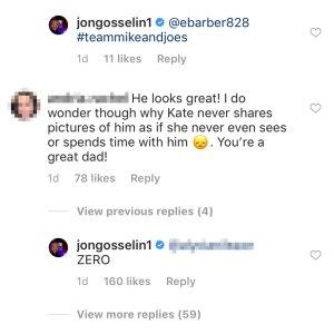 Jon Gosselin Claims Ex Kate Gosselin Has 'Zero' Interaction With Their Son Collin