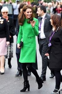 Catherine, Duchess of Cambridge kate middleton green dress