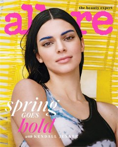 Kendall Jenner on the cover of Allure