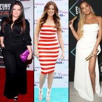 Khloe Kardashian Khloe Kardashian's Body Evolution