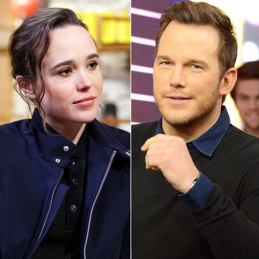 Ellen Page Doubles Down on Chris Pratt 'Anti-LGBTQ' Claim