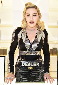 Madonna Is the Latest Celeb to Show Off Her New Ink