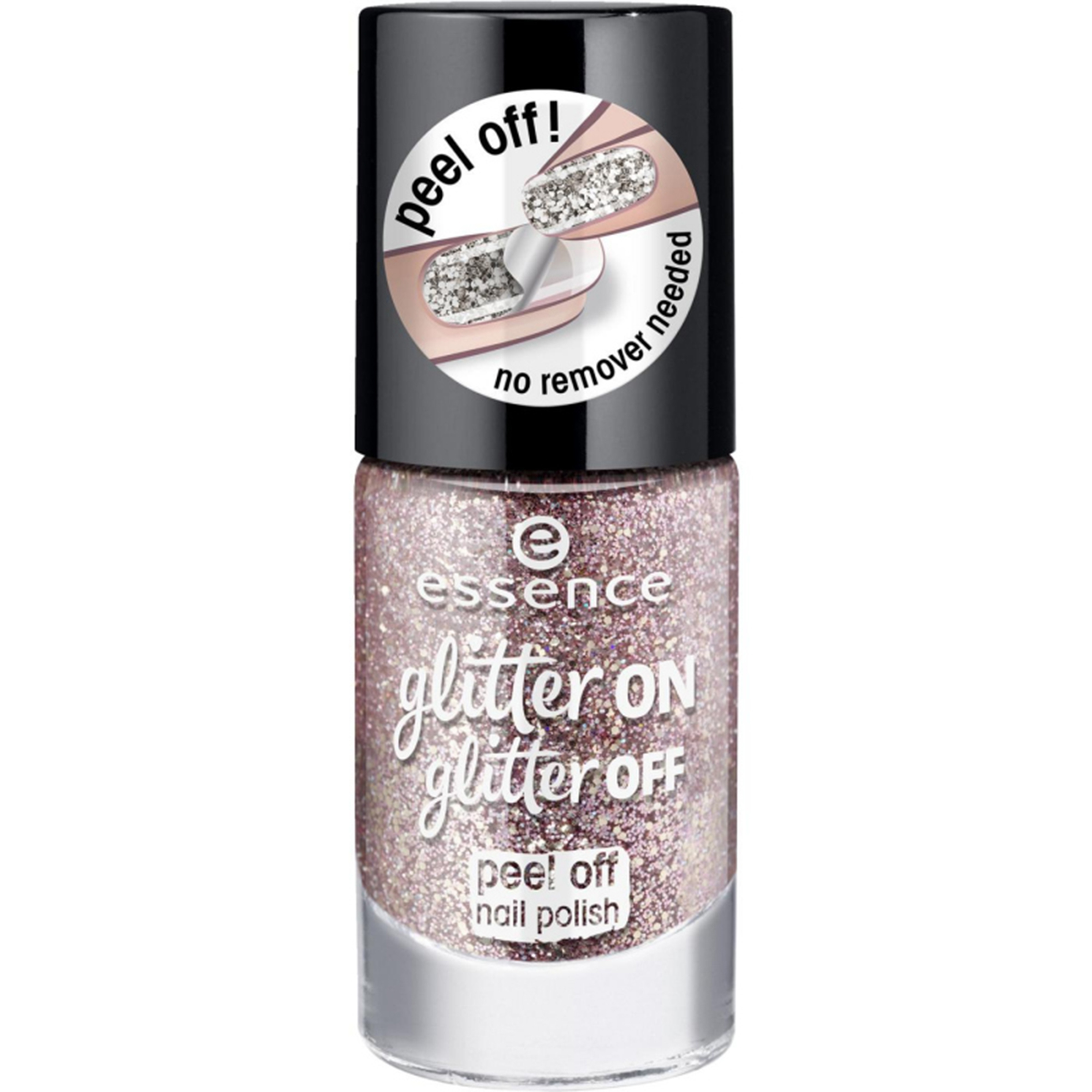 10 Long-Wearing Beauty Products to Up Your Date Night Confidence - Sparkly manicures are the best — until it's time to take them off. This long-wear vegan glitter polish dries quickly and peels off (no nail polish remover required!) when you're ready to switch things up.