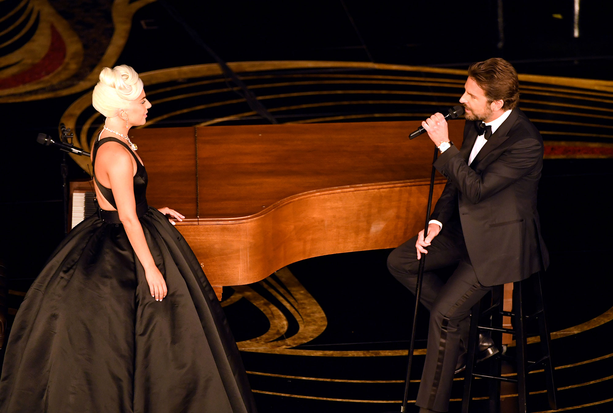 oscars 2019 Lady Gaga and Bradley Cooper