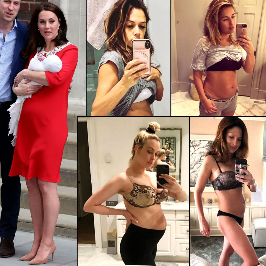Celebs Who Revealed Their Postpartum Bodies Days After Giving Birth