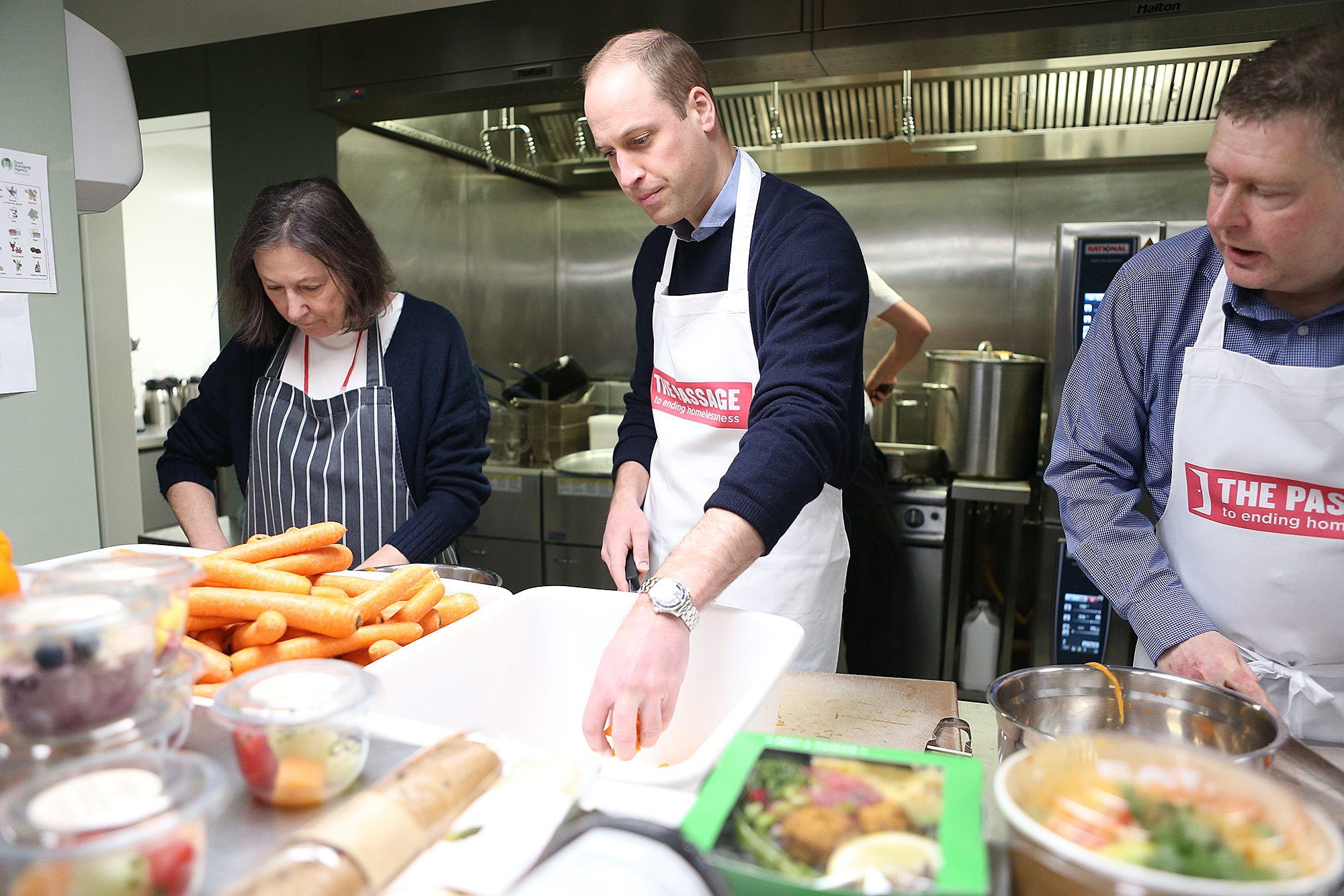Image result for prince william cooking