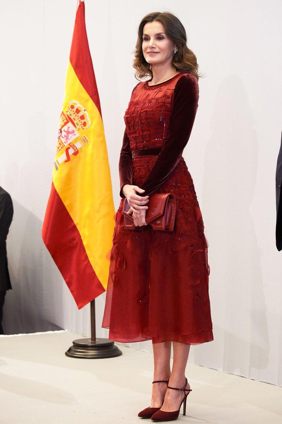 Queen Letizia of Spain style