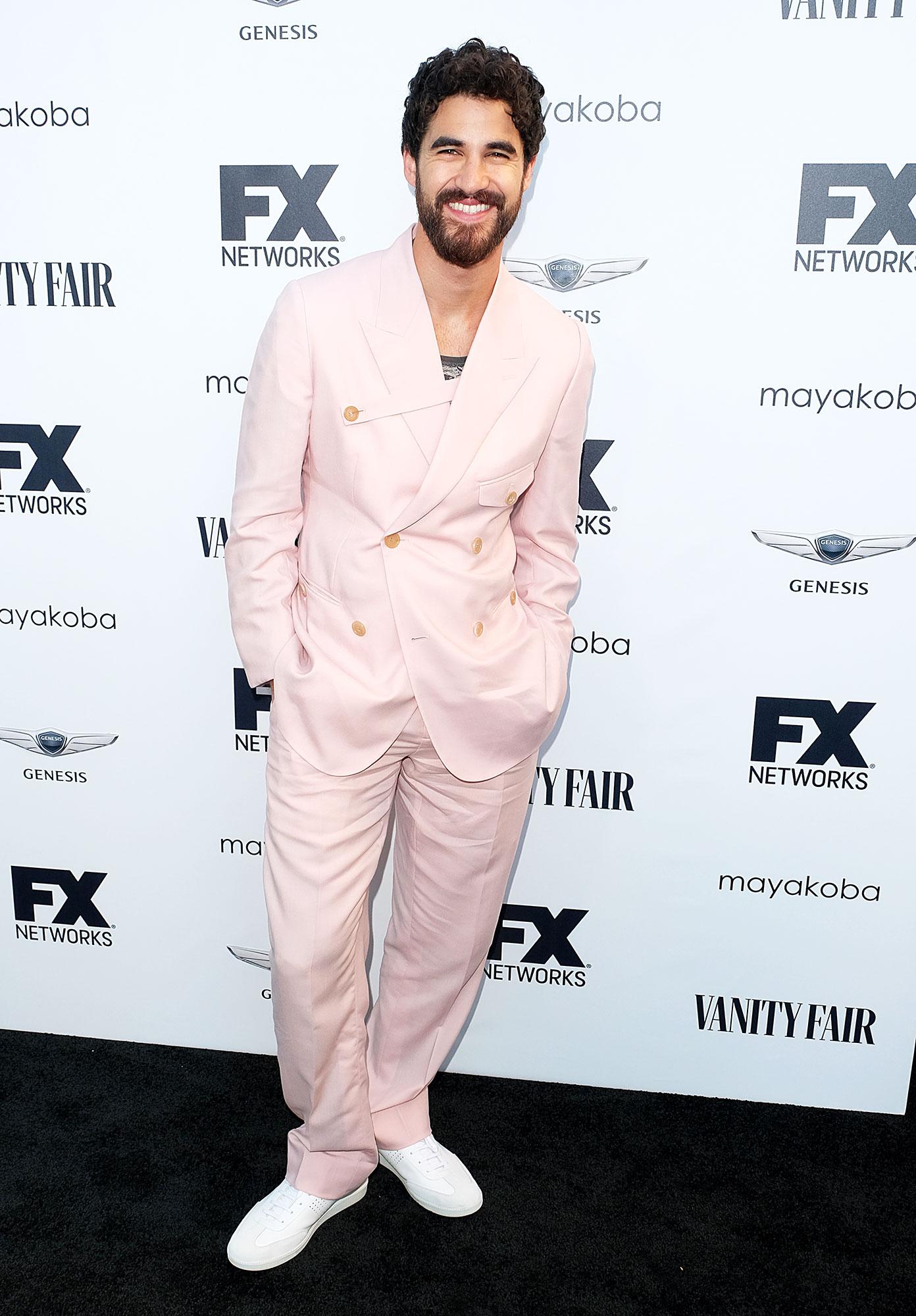Darren Criss - In a $7,200 cashmere Dior Men on Sept. 16.
