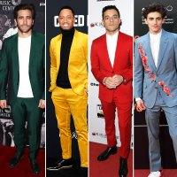 Jake Gyllenhaal, Terrence J., Rami Malek and Timothee Chalamet