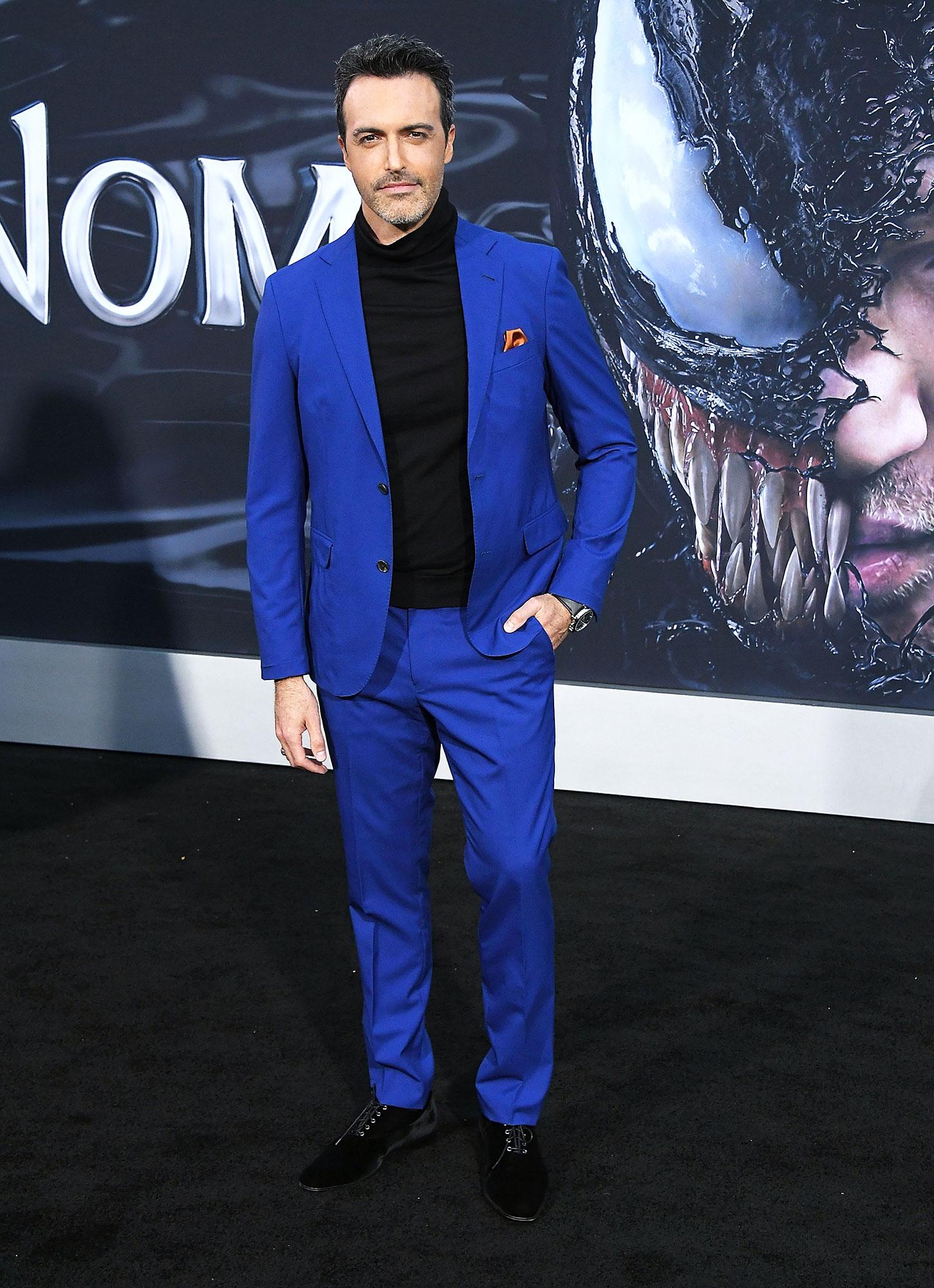 Reid Scott - In a $695 wool Strong Suit on Oct. 1.