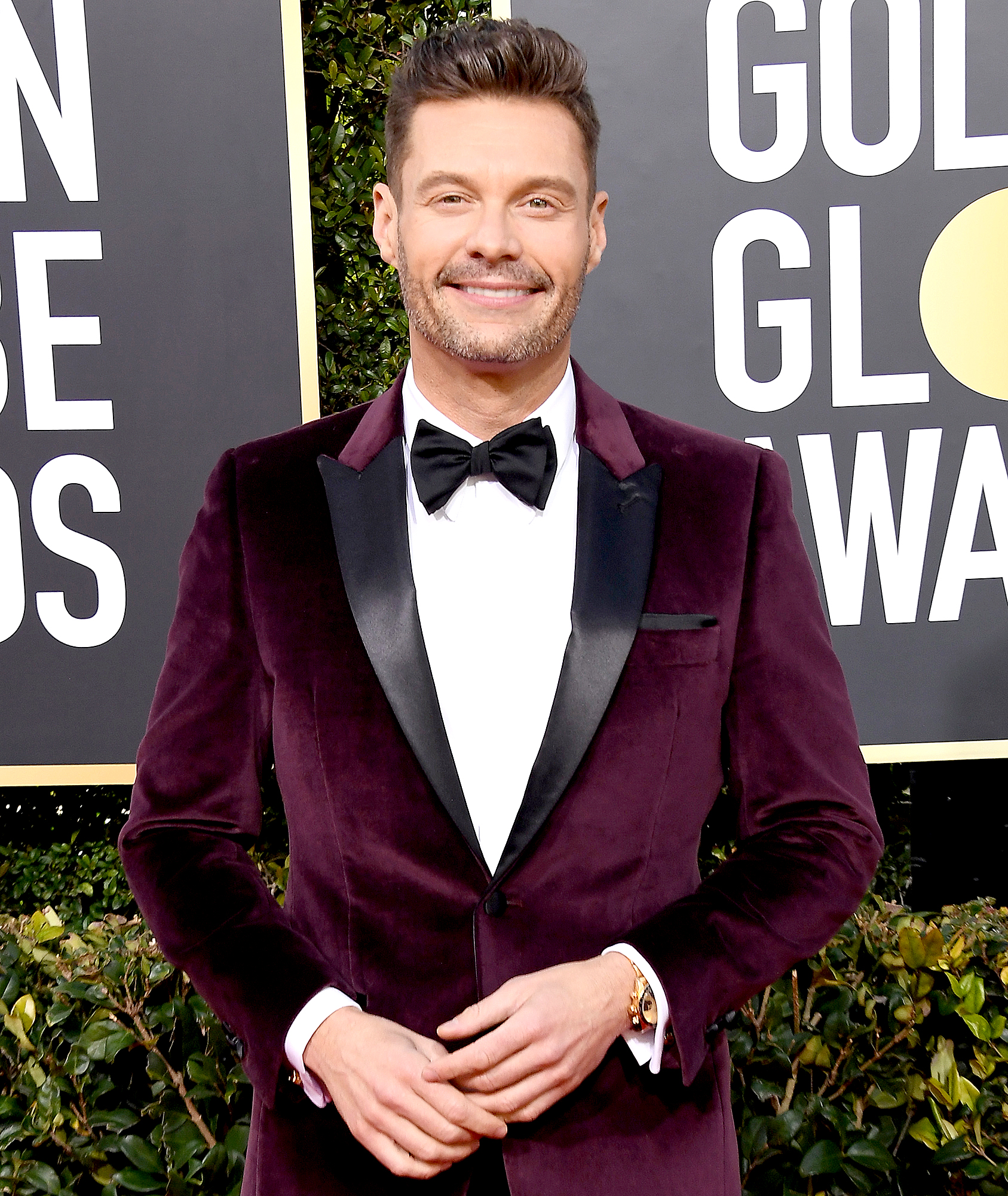 ryan-seacrest-talks-katy-perry-orlando-bloom-engagement - Ryan Seacrest attends the 76th Annual Golden Globe Awards at The Beverly Hilton Hotel on January 6, 2019 in Beverly Hills, California.