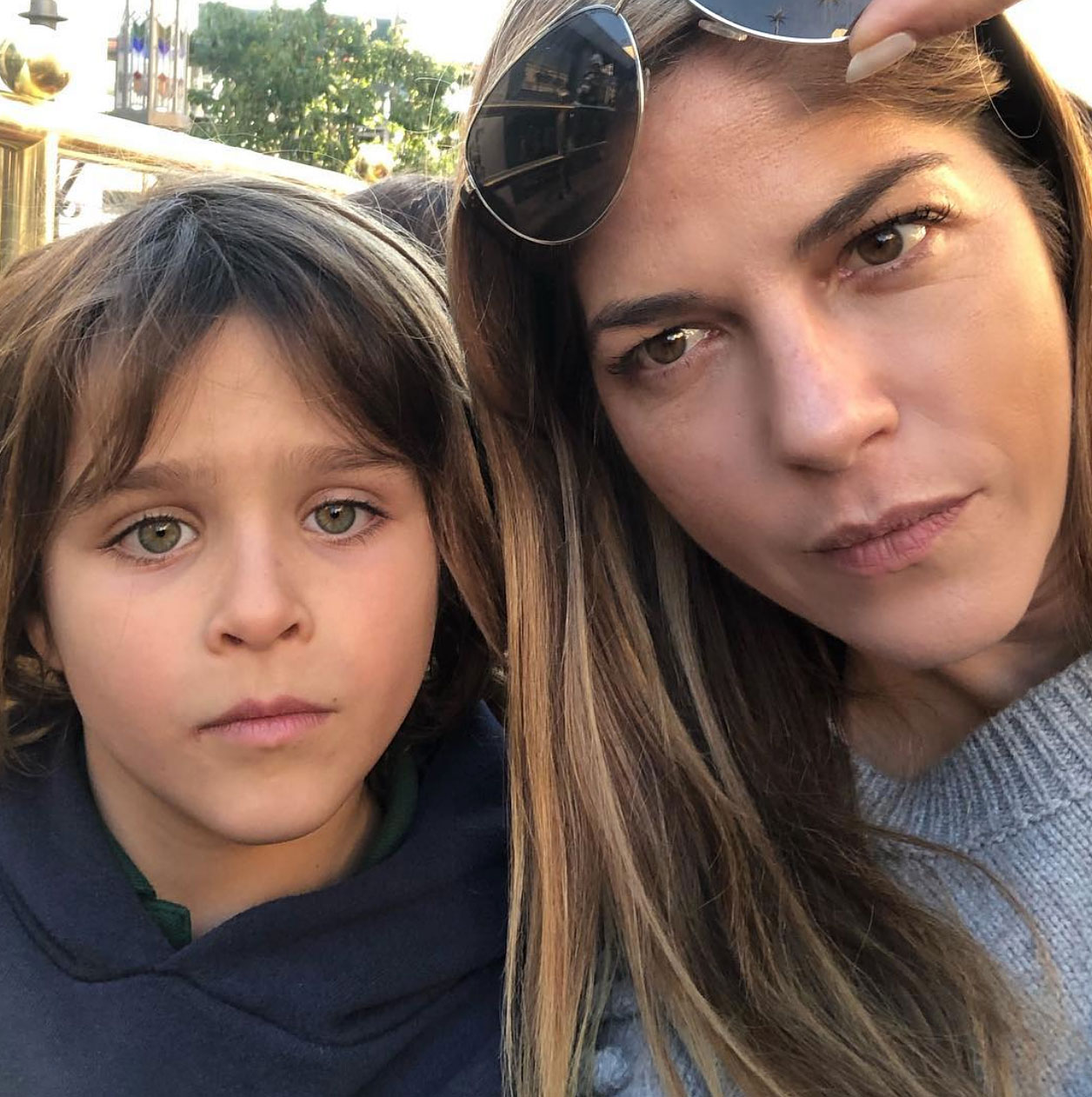 Image result for selma blair son