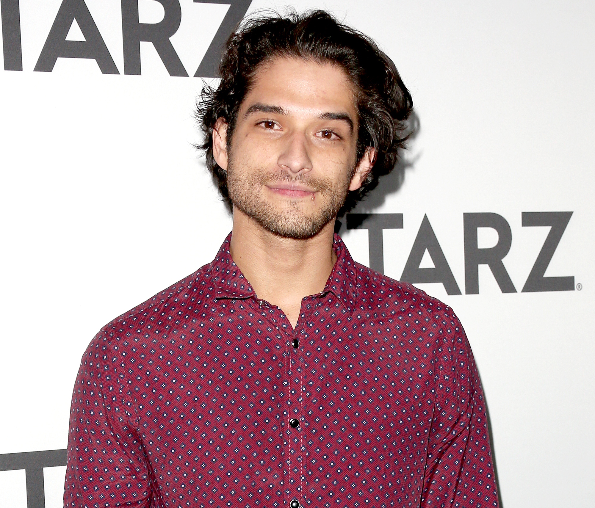 tyler-posey-talks-girlfriend - Tyler Posey attends the 2019 Winter TCA Tour – STARZ red carpet event at 71Above on February 12, 2019 in Los Angeles, California.