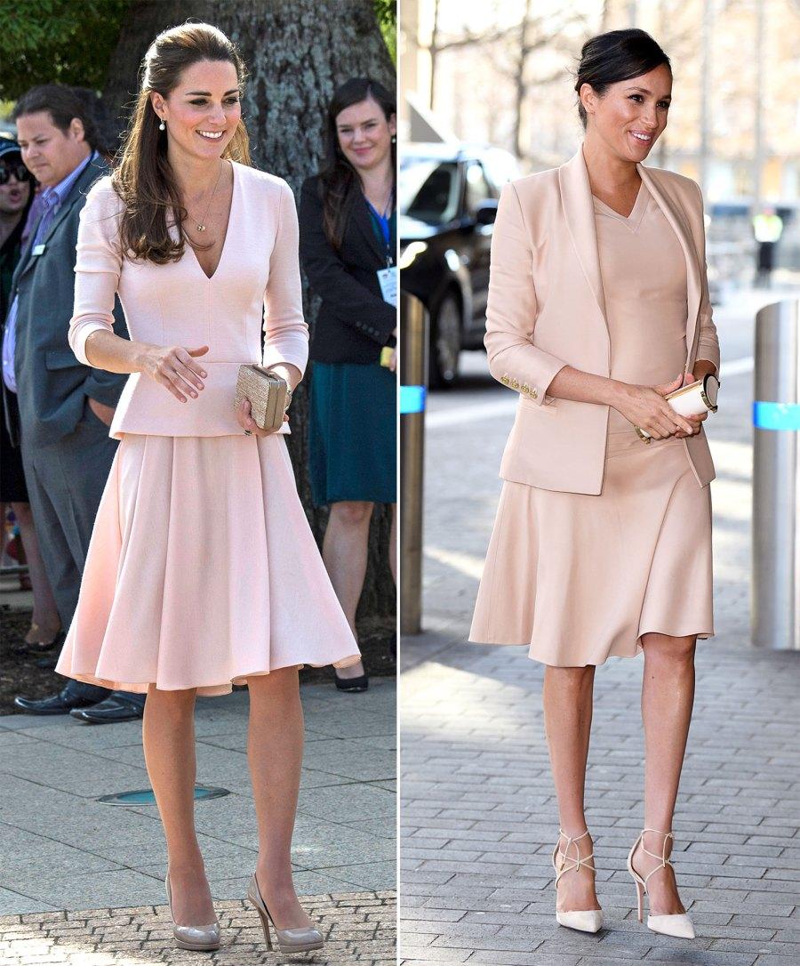 The Royal Style Secret Meghan Markle Stole From Kate Middleton
