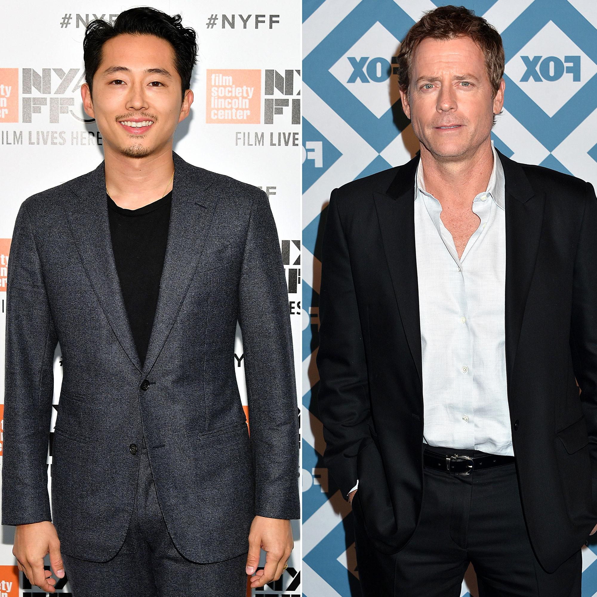 "Every Celeb Appearing on the New 'Twilight Zone' Steven Yeun Greg Kinnear - The Walking Dead 's Steven Yeun and Greg Kinnear star in the fourth episode, ""The Traveler."""