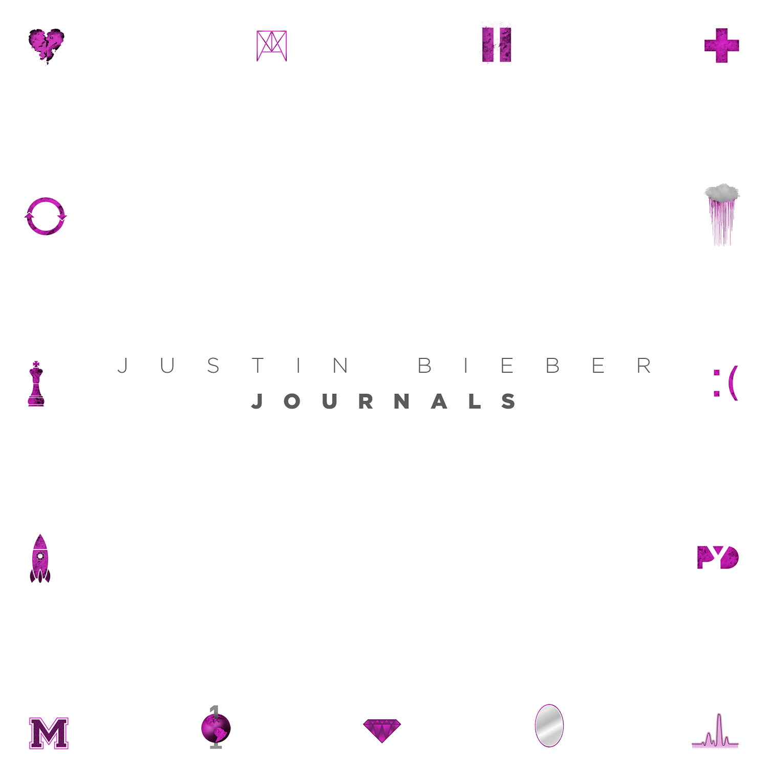 """Justin Bieber Through The Years Journals - The performer wrote a number of new songs during his time on the road, which he compiled into a digital-only album titled Journals . The R&B-inflected record, which included singles """"All That Matters"""" and """"Hold Tight,"""" was his most mature to date, but was not a commercial success."""