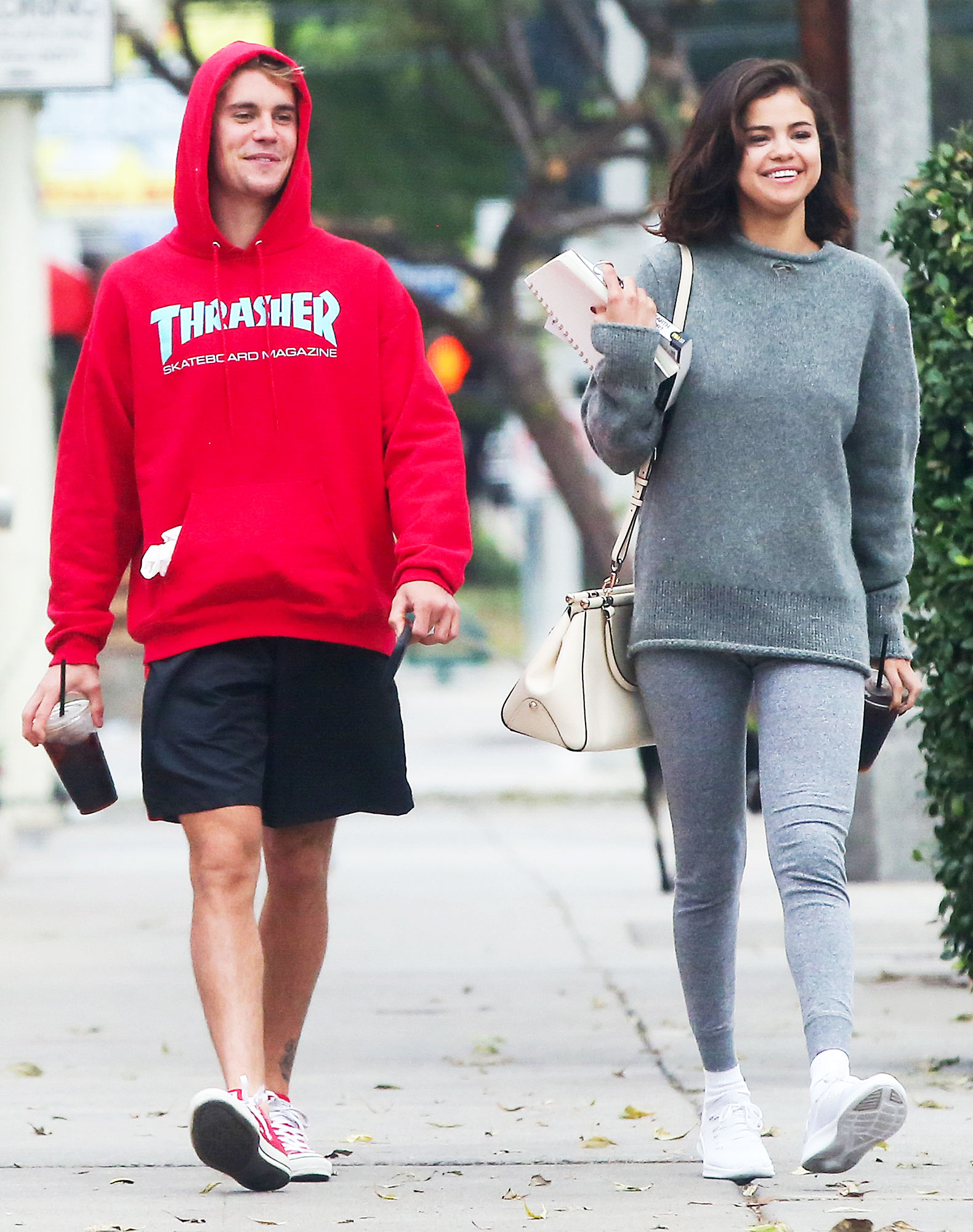 """Justin Bieber Through The Years Selena Gomez Reunion - The Just Getting Started author started dating Gomez again after her split from The Weeknd . """"I cherish people who have really impacted my life. So maybe before, it could have been forcing something that wasn't right. But that doesn't mean caring for someone ever goes away,"""" she told Billboard soon after the reunion."""