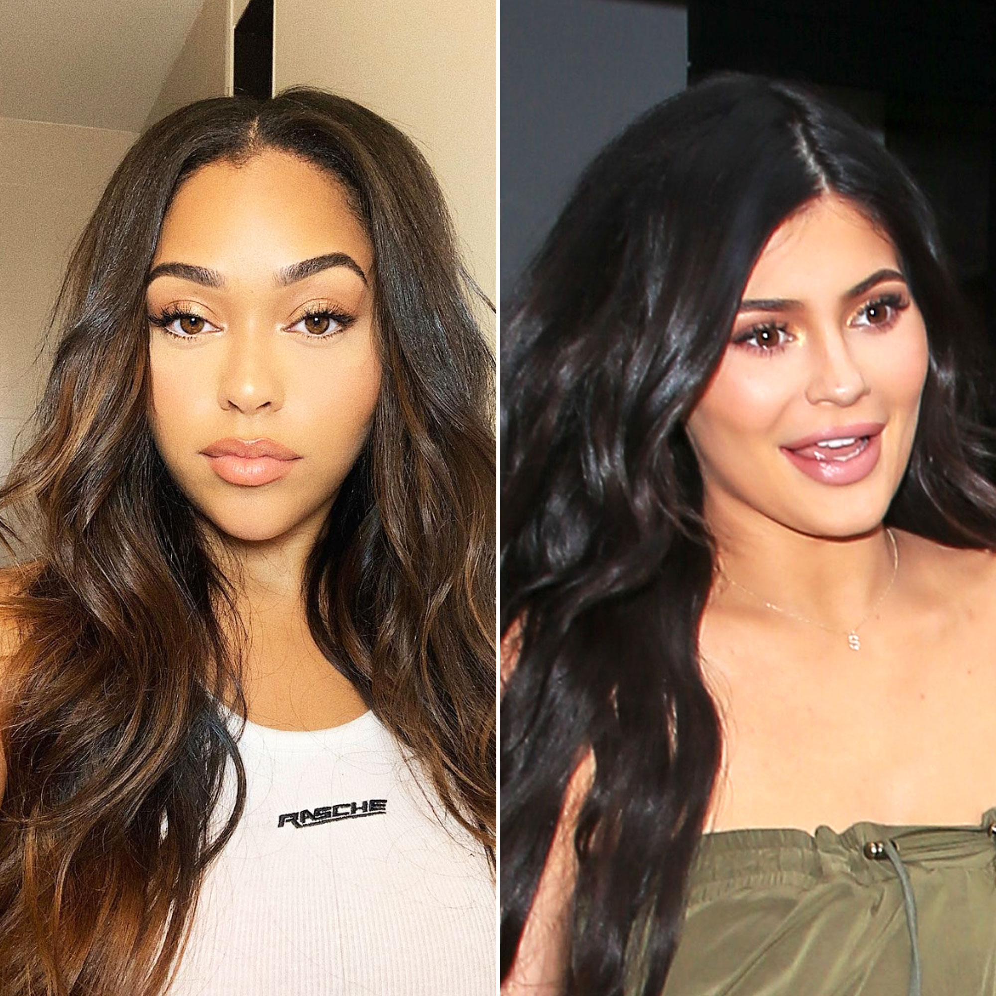 6 Times Jordyn Woods Channeled Kylie Jenner's Hair - The Kardashian-Jenner clan is all about the hair change, but Kylie and her sisters return to long and luscious waves time and time again. Woods apparently got the memo with this February 2018 selfie.