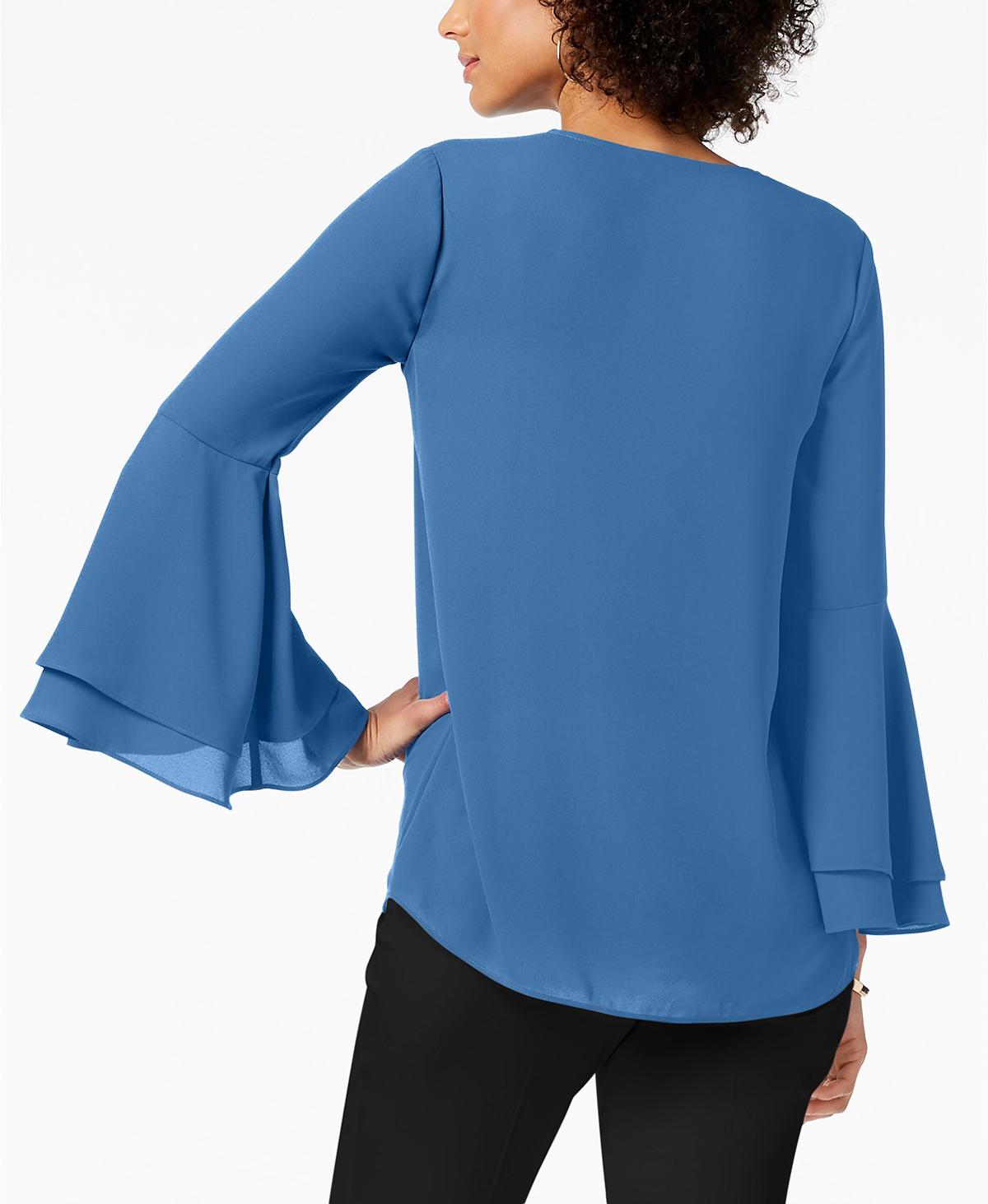 Alfani Blouse Blue