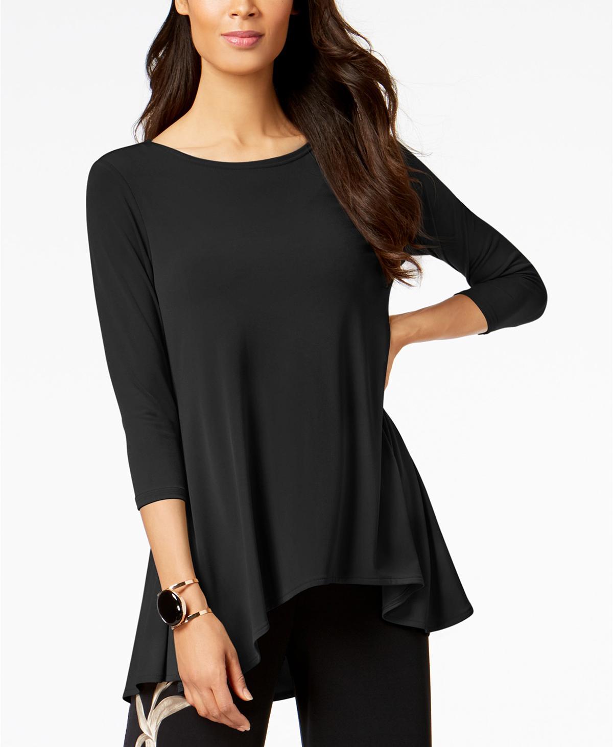 Alfani Tunic Black