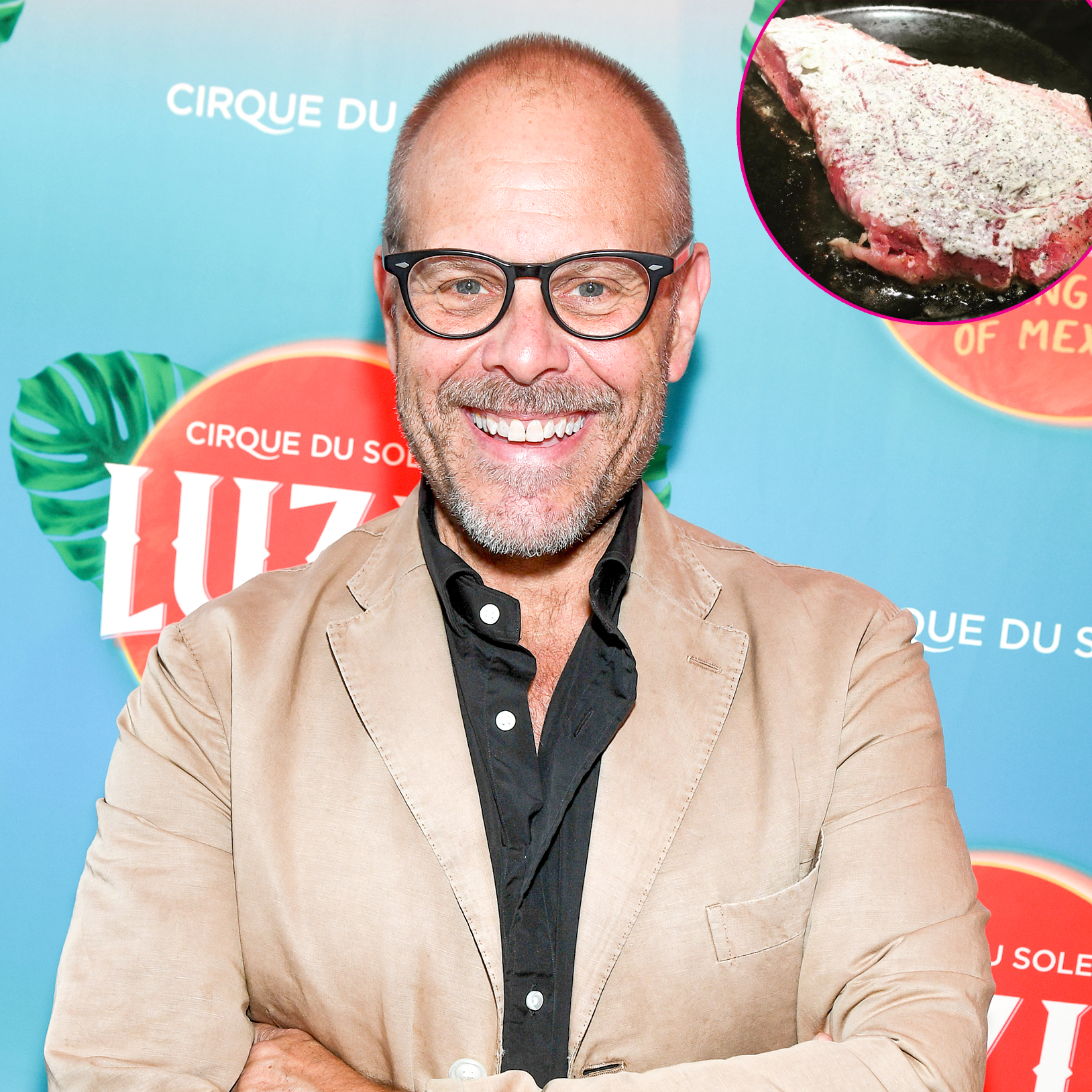 Alton-Brown's-Mayonnaise-Steak - If there's a king of kooky cooking tips, it's the Good Eats host. In September 2018, he revealed via Instagram that he slathers a steak in mayonnaise before cooking it.