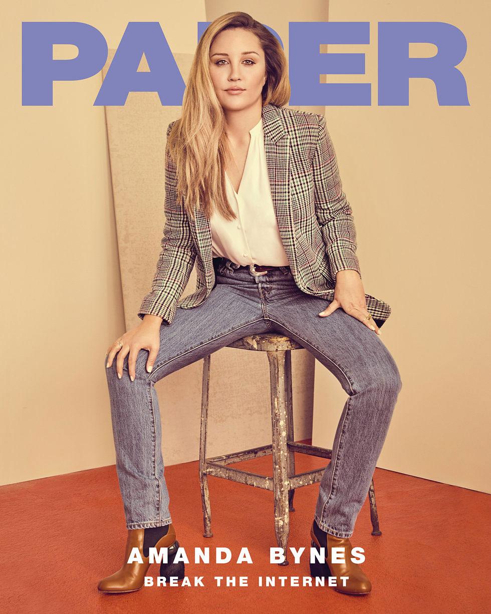 Amanda Bynes Enters Rehab After Relapse - Amanda Bynes for Paper Magazine