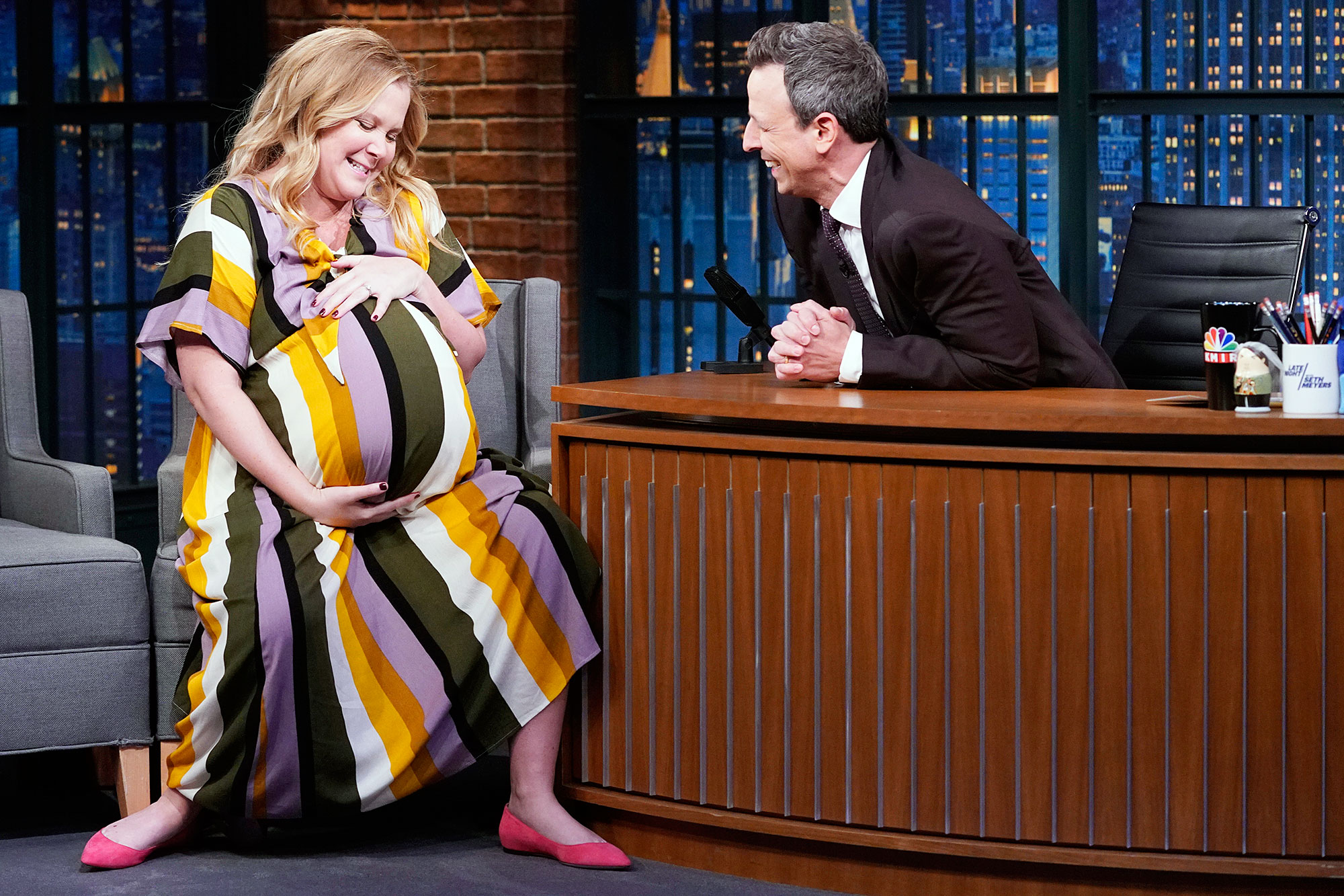 Amy Schumer Explains Revealing Chris Fischer Autism Diagnosis Late Night With Seth Meyers