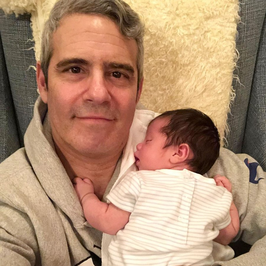 Andy Cohen Introduces Baby Benjamin To Friends