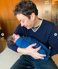 Andy Cohen Introduces Baby Benjamin To Jimmy Fallon