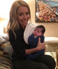 Andy Cohen Introduces Baby Benjamin To Kelly Ripa