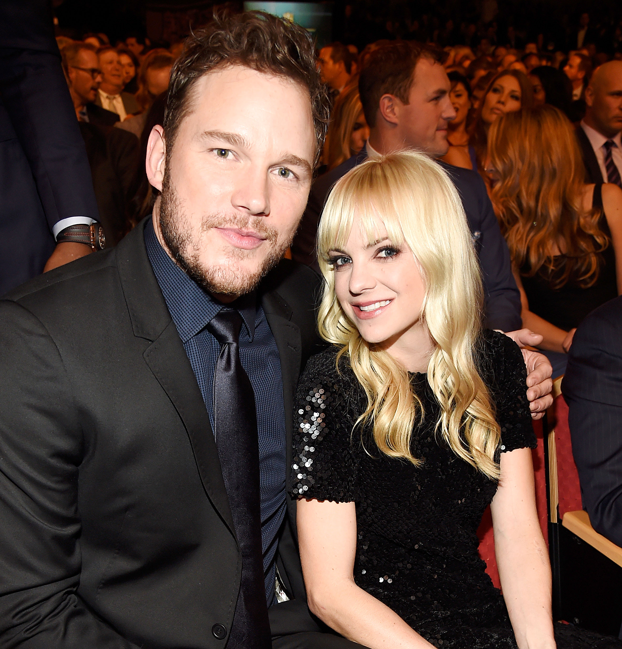 Anna Faris Says She and Ex-Husband Chris Pratt Hope to Spend Holidays Together - Chris Pratt and Anna Faris attend the 4th Annual NFL Honors at Phoenix Convention Center on January 31, 2015 in Phoenix, Arizona.